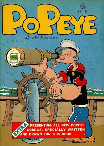 Cover for Four Color (Dell, 1942 series) #145 - Popeye
