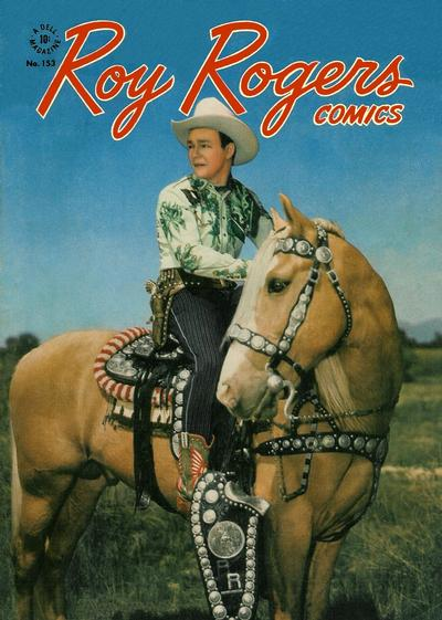 Cover for Four Color (Dell, 1942 series) #153 - Roy Rogers Comics
