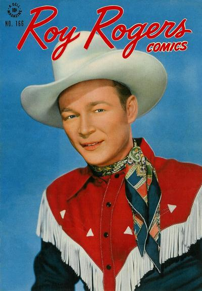 Cover for Four Color (Dell, 1942 series) #166 - Roy Rogers Comics