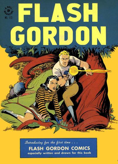 Cover for Four Color (Dell, 1942 series) #173 - Flash Gordon