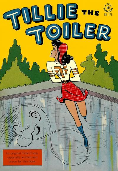 Cover for Four Color (Dell, 1942 series) #176 - Tillie the Toiler
