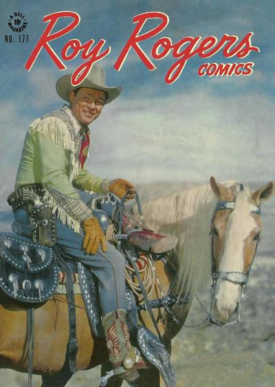 Cover for Four Color (Dell, 1942 series) #177 - Roy Rogers Comics