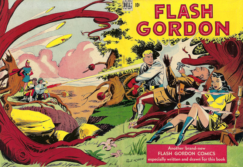 Cover for Four Color (Dell, 1942 series) #190 - Flash Gordon