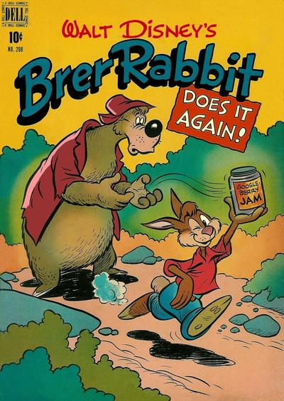 Cover for Four Color (Dell, 1942 series) #208 - Walt Disney's Brer Rabbit Does It Again