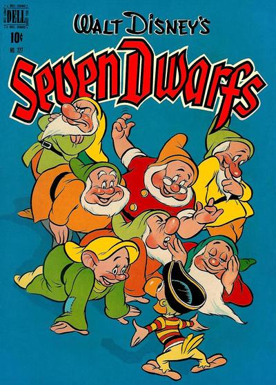 Cover for Four Color (Dell, 1942 series) #227 - Walt Disney's Seven Dwarfs