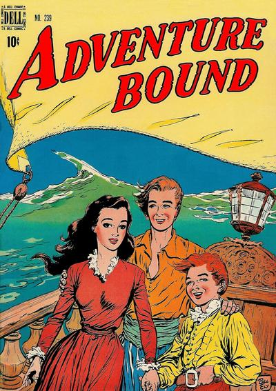 Cover for Four Color (Dell, 1942 series) #239 - Adventure Bound