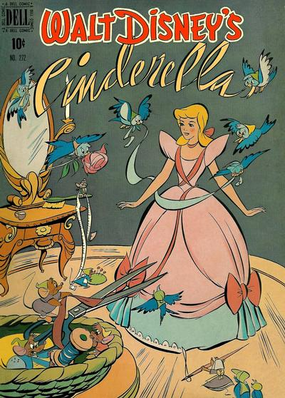 Cover for Four Color (Dell, 1942 series) #272 - Walt Disney's Cinderella