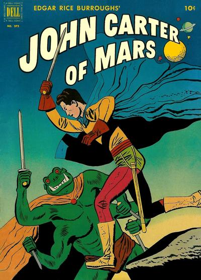 Cover for Four Color (Dell, 1942 series) #375 - John Carter of Mars