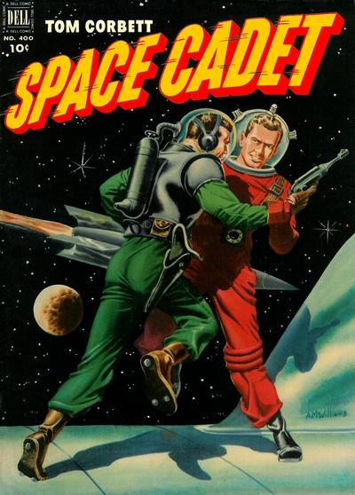 Cover for Four Color (Dell, 1942 series) #400 - Tom Corbett, Space Cadet