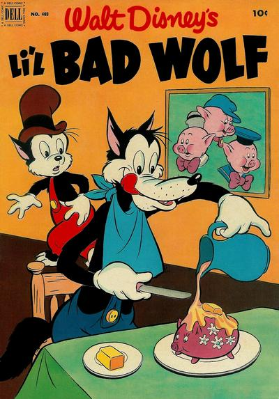 Cover for Four Color (Dell, 1942 series) #403 - Walt Disney's Li'l Bad Wolf