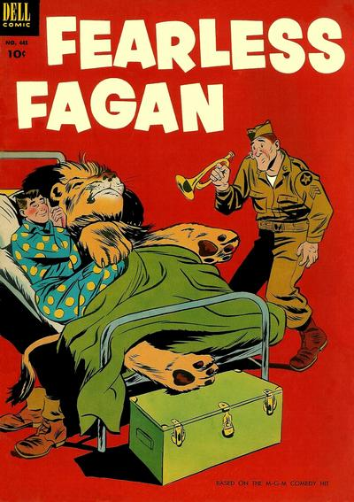 Cover for Four Color (Dell, 1942 series) #441 - Fearless Fagan