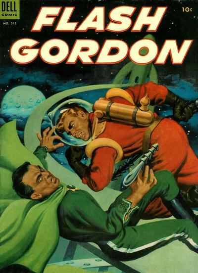 Cover for Four Color (Dell, 1942 series) #512 - Flash Gordon