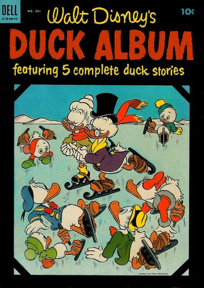 Cover for Four Color (Dell, 1942 series) #531 - Walt Disney's Duck Album