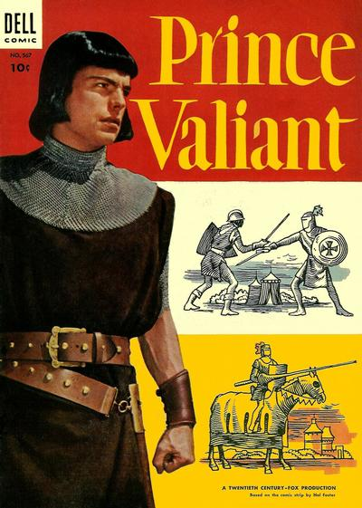 Cover for Four Color (Dell, 1942 series) #567 - Prince Valiant