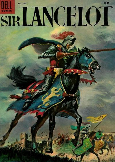 Cover for Four Color (Dell, 1942 series) #606 - Sir Lancelot