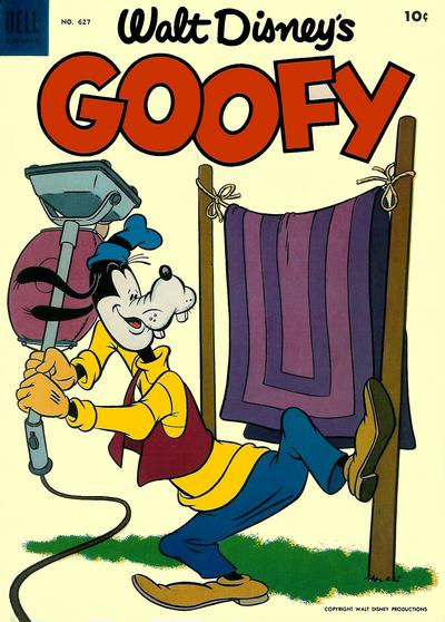 Cover for Four Color (Dell, 1942 series) #627 - Walt Disney's Goofy