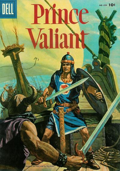 Cover for Four Color (Dell, 1942 series) #650 - Prince Valiant