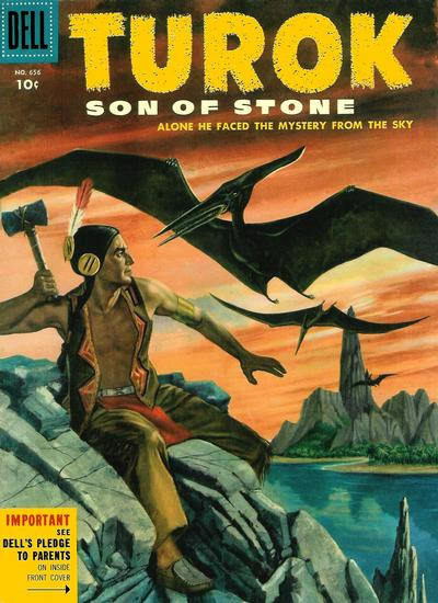 Cover for Four Color (Dell, 1942 series) #656 - Turok