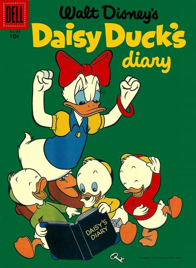 Cover for Four Color (Dell, 1942 series) #659 - Walt Disney's Daisy Duck's Diary