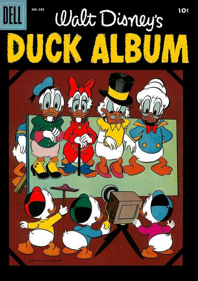 Cover for Four Color (Dell, 1942 series) #686 - Walt Disney's Duck Album