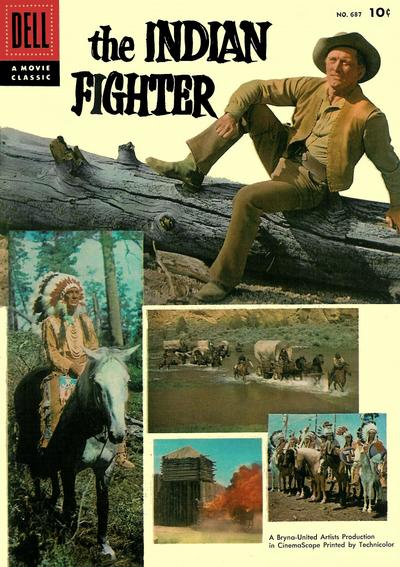 Cover for Four Color (Dell, 1942 series) #687 - The Indian Fighter