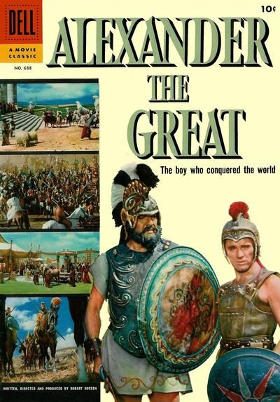 Cover for Four Color (Dell, 1942 series) #688 - Alexander the Great