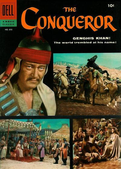 Cover for Four Color (Dell, 1942 series) #690 - The Conqueror