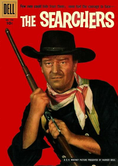 Cover for Four Color (Dell, 1942 series) #709 - The Searchers