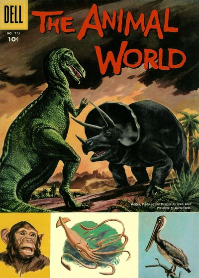 Cover for Four Color (Dell, 1942 series) #713 - The Animal World