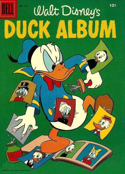 Cover for Four Color (Dell, 1942 series) #726 - Walt Disney's Duck Album