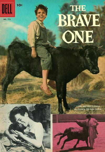 Cover for Four Color (Dell, 1942 series) #773 - The Brave One