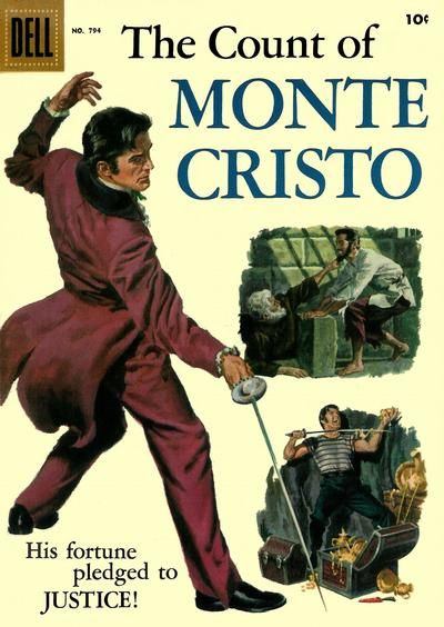 Cover for Four Color (Dell, 1942 series) #794 - The Count of Monte Cristo