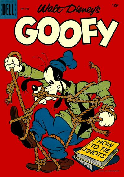 Cover for Four Color (Dell, 1942 series) #802 - Walt Disney's Goofy