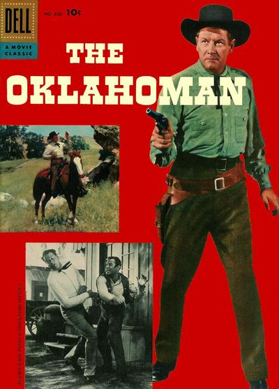 Cover for Four Color (Dell, 1942 series) #820 - The Oklahoman