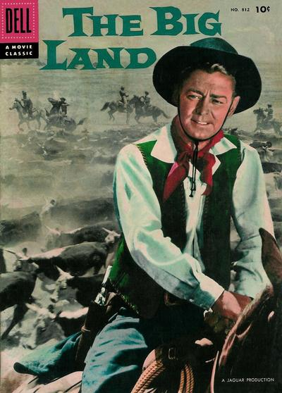 Cover for Four Color (Dell, 1942 series) #812 - The Big Land