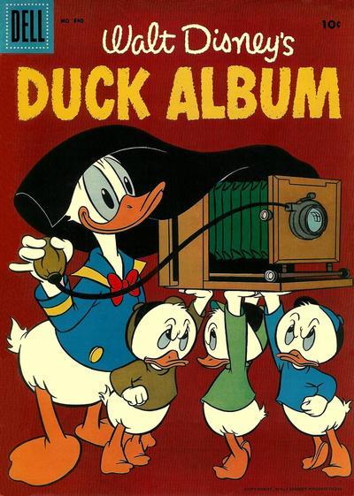 Cover for Four Color (Dell, 1942 series) #840 - Walt Disney's Duck Album