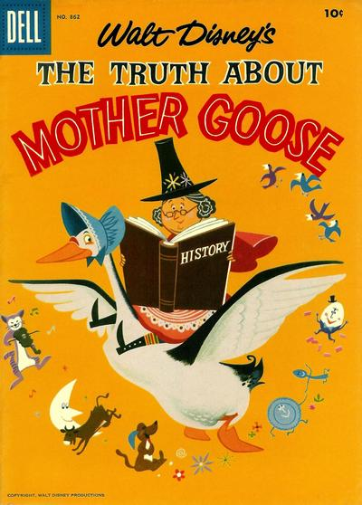 Cover for Four Color (Dell, 1942 series) #862 - Walt Disney's The Truth about Mother Goose