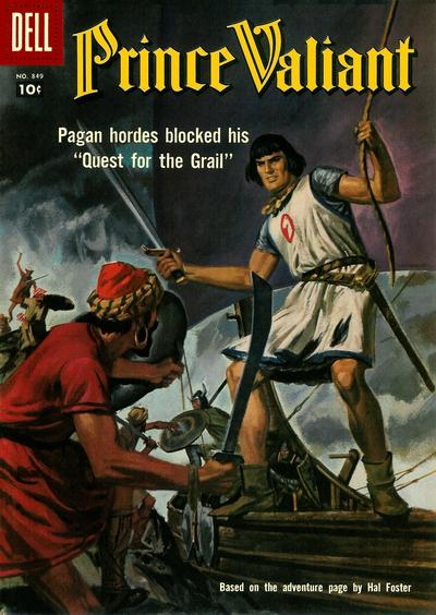 Cover for Four Color (Dell, 1942 series) #849 - Prince Valiant