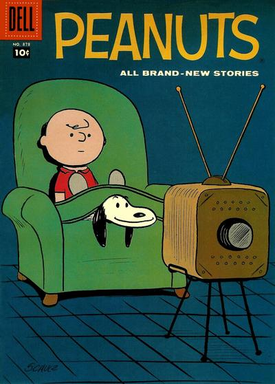 Cover for Four Color (Dell, 1942 series) #878 - Peanuts
