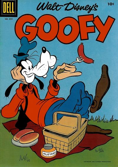 Cover for Four Color (Dell, 1942 series) #899 - Walt Disney's Goofy