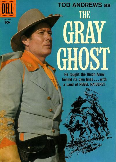 Cover for Four Color (Dell, 1942 series) #911 - The Gray Ghost