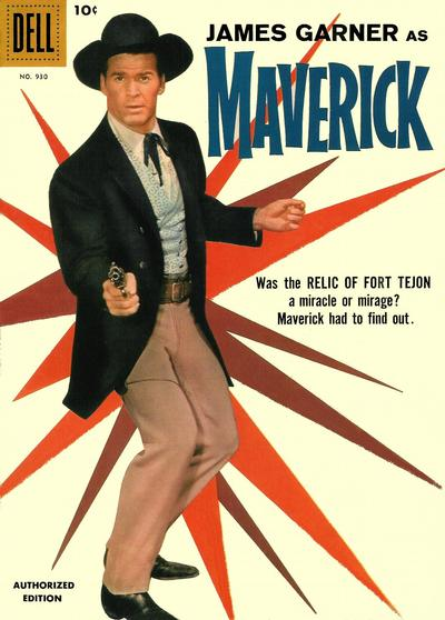 Cover for Four Color (Dell, 1942 series) #930 - Maverick