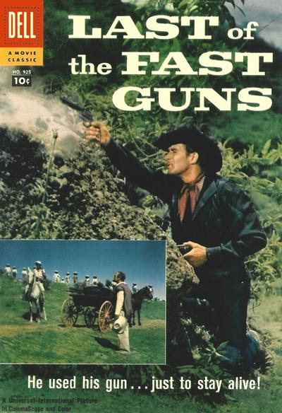 Cover for Four Color (Dell, 1942 series) #925 - Last of the Fast Guns