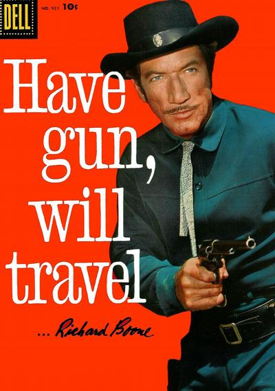 Cover for Four Color (Dell, 1942 series) #931 - Have Gun, Will Travel