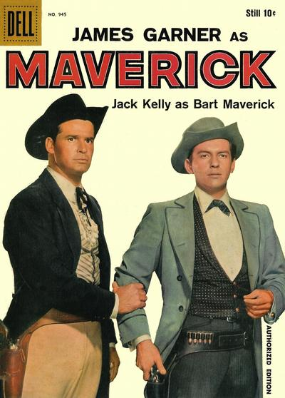 Cover for Four Color (Dell, 1942 series) #945 - Maverick