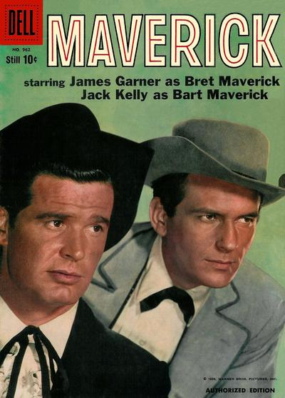 Cover for Four Color (Dell, 1942 series) #962 - Maverick