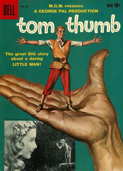 Cover for Four Color (Dell, 1942 series) #972 - Tom Thumb