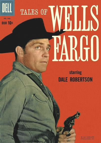 Cover for Four Color (Dell, 1942 series) #968 - Tales of Wells Fargo