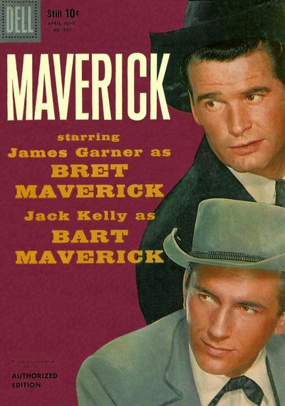 Cover for Four Color (Dell, 1942 series) #980 - Maverick