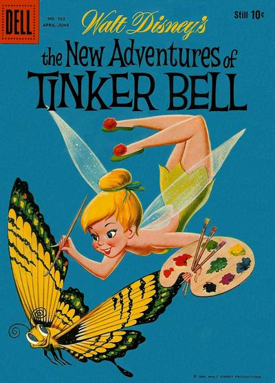 Cover for Four Color (Dell, 1942 series) #982 - Walt Disney's The New Adventures of Tinker Bell